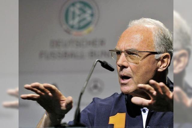 Auch Beckenbauers Name fällt