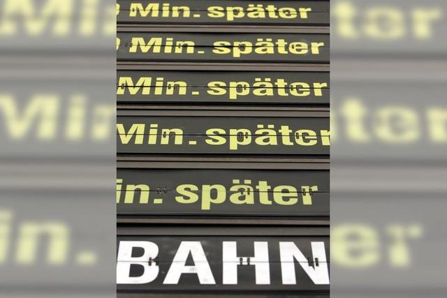 Störung im Stellwerk Lahr: Züge verspäteten sich erheblich