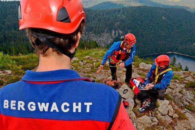 Bergwacht Schwarzwald: Zahl der Unglücke hat sich verdoppelt