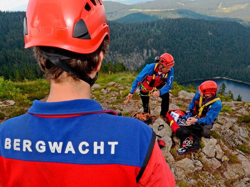 In diesem Frühjahr hatte die Bergwacht Schwarzwald schon reichlich zu tun.    Foto: dpa