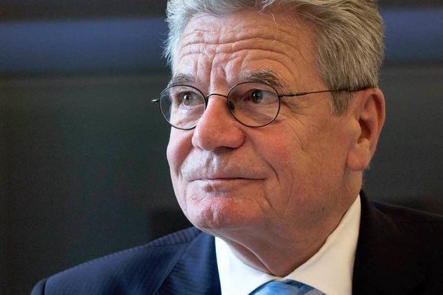 Gauck darf NPD-Anhänger als Spinner bezeichnen