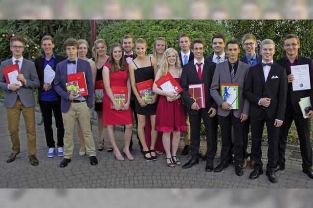 Breisacher Abiturienten feiern ihren Abschluss