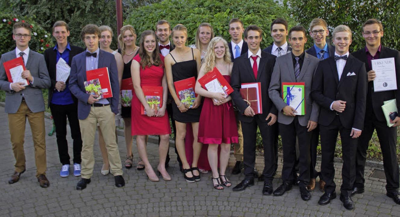 <Text>Zahlreiche Abiturienten des Brei...alls mit Preisen ausgezeichnet.</Text>  | Foto: Simon Krause