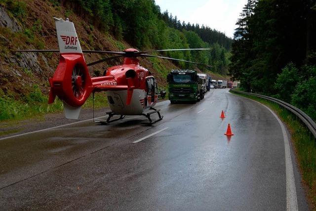 Erneut zwei Motorradfahrer im Hochschwarzwald verunglückt