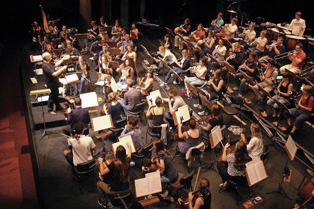 Junge Sinfoniker Basel spielen Werke von Mozart und Frigyes Hidas