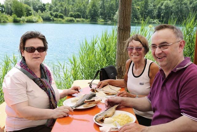 Forellen und Backfische schmecken auch bei der Hitze