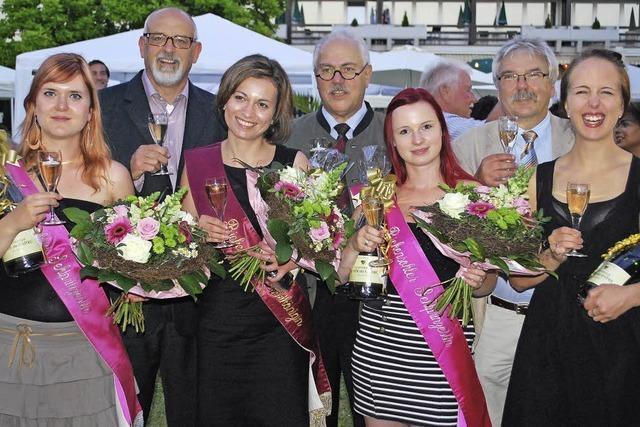 Andrea Hartl ist neue Sektkönigin