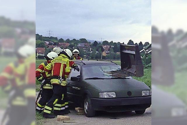 Unfallrettung klappt wie am Schnürchen