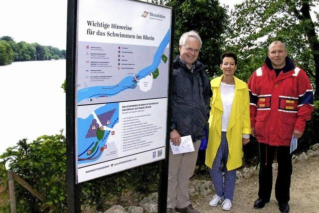 Rheinschwimmen: Das Anna-Loch ist tabu