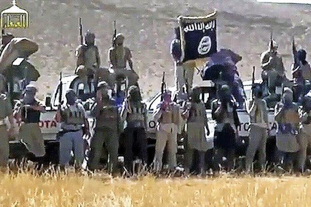 Die schwarze Fahne weht über Mossul