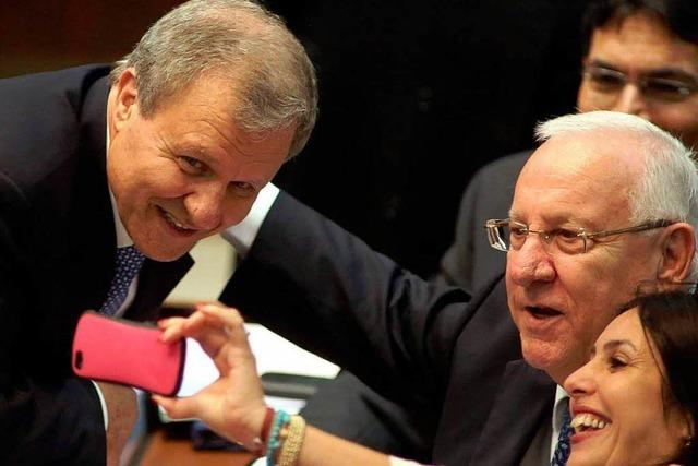 Rivlin lehnt Zweistaatenlösung mit Palästinensern ab