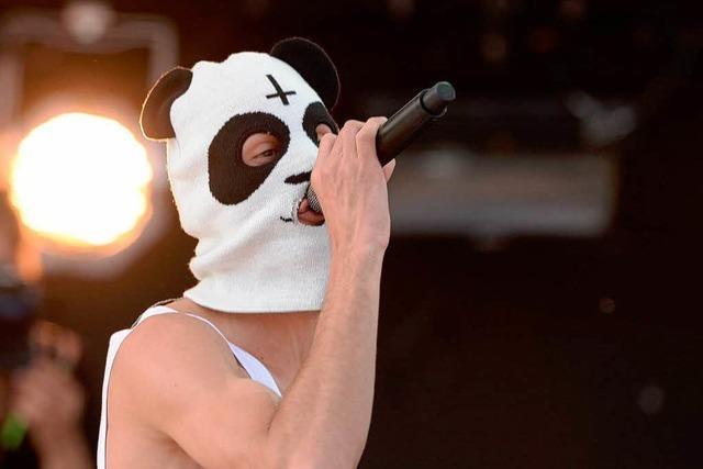 Maximaler Wow-Moment: Der Rapper Cro am Bodensee