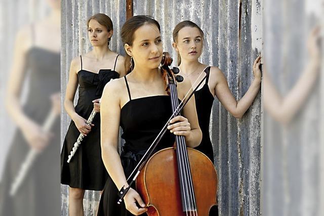 Das Trio Quer-Strich und die Mezzosopranistin Hanna Roos sind zu Gast in Badenweiler