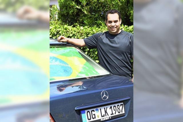 Brasilianischer Badener aus Ottenheim schaut bei der WM genau zu