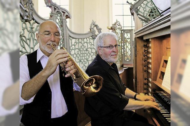 Fröschle lässt die Orgel swingen