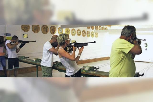 Treffsicher: die Jugendfeuerwehr