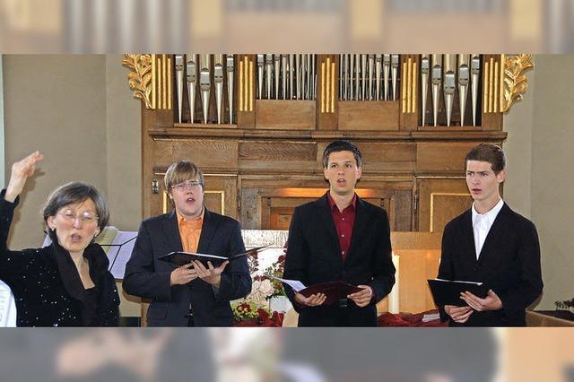 Aktiv für die Kirchenmusik statt im Ruhestand