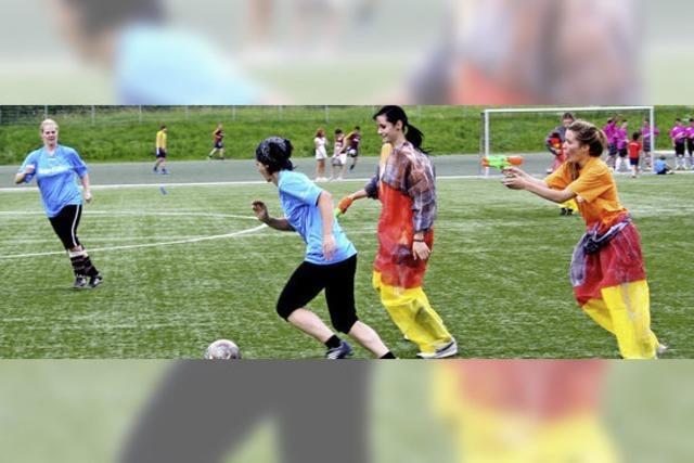 Sport gepaart mit Spaß und Spiel