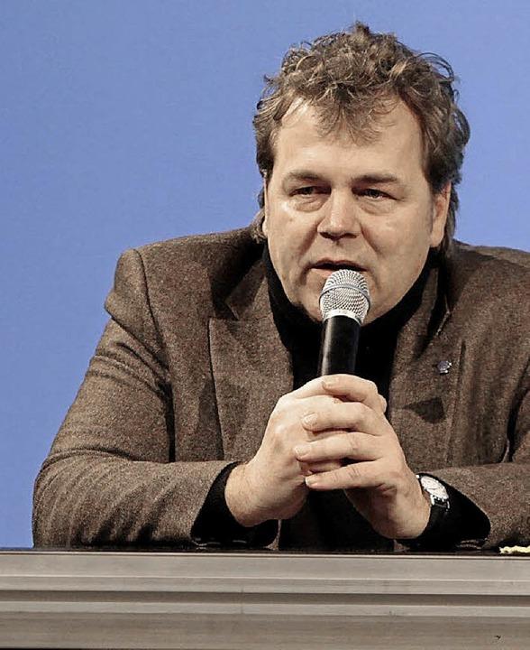 Christian Hiss von der Regionalwert AG iN Eichstette  | Foto: Christoph breithaupt