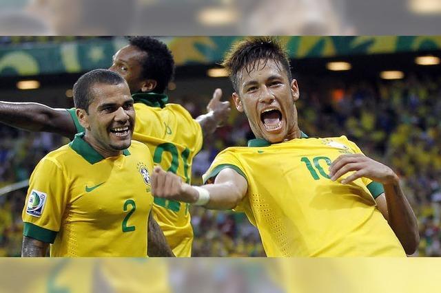 Brasilien kämpft um den Titel und um einen Euphorieschub
