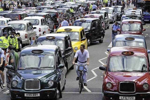 Taxifahrer wollen keine Konkurrenz aus dem Internet