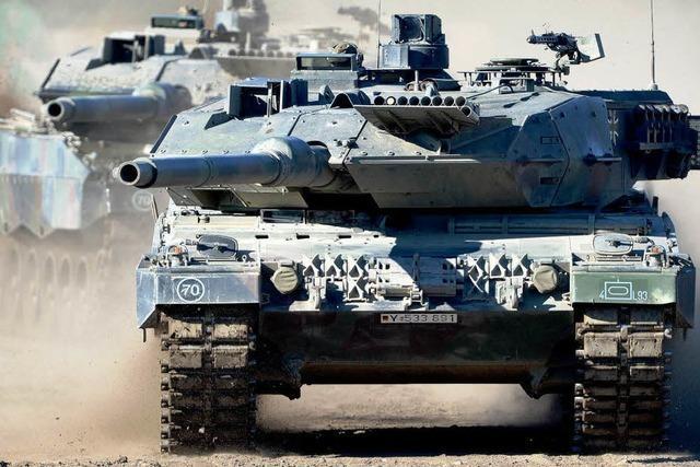 Gabriel will weniger Panzer liefern