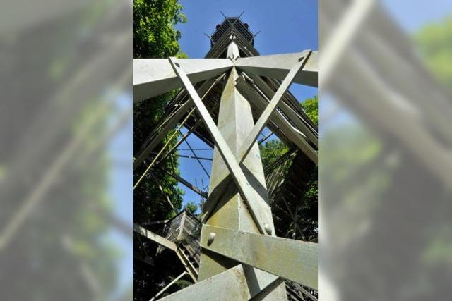 Roßkopfturm feiert 125. Geburtstag – eisern seit 1889