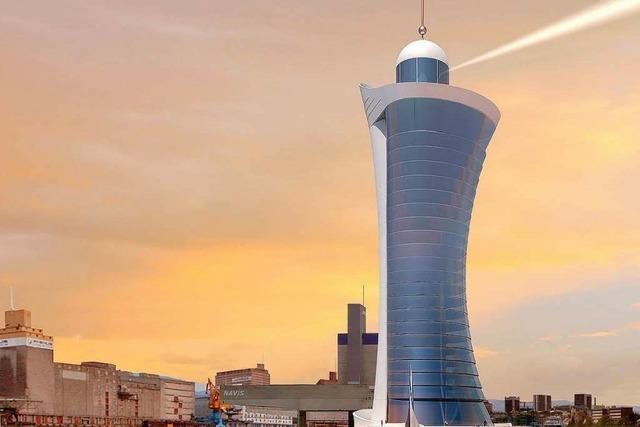Wird in Basel Europas höchster Leuchtturm gebaut?