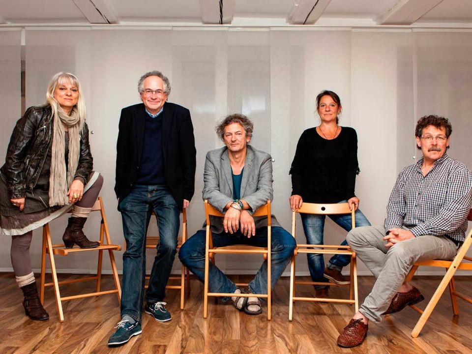 Andrea Kienzle, William Cuthbertson, M...ur Beteiligung an der Kulturwoche auf.  | Foto: Photographer: Gabriele Zahn