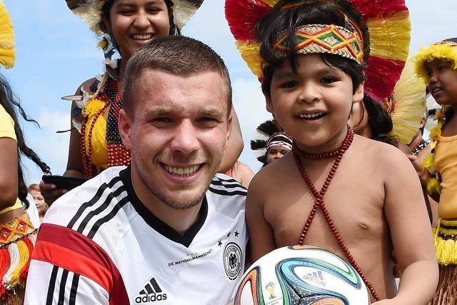 Lukas Podolski: Der Verwandlungskünstler
