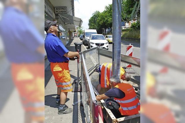 Parkleitsystem verzögert sich