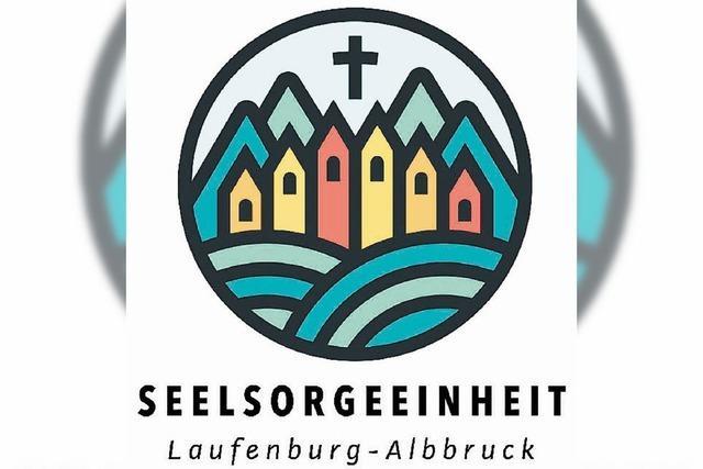 Wie buntes Kirchenfenster fängt Logo das Licht ein