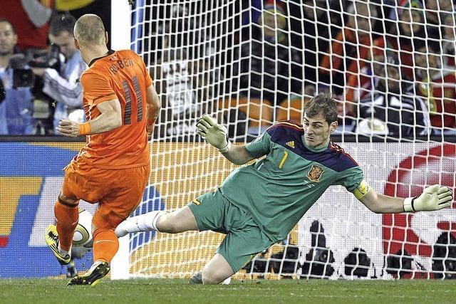 Arjen Robbens schlechte Erinnerungen an das Finale von 2010