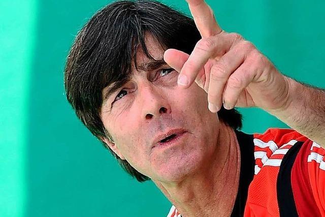 Comeback des Bundestrainers: Löw voller Euphorie