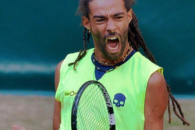 Dustin Brown lässt Tennisstar Rafael Nadal alt aussehen