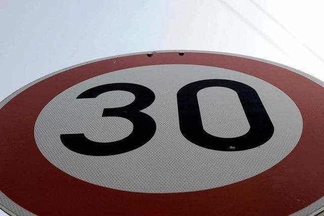 Mehr Tempo 30 in der Stadt scheint möglich