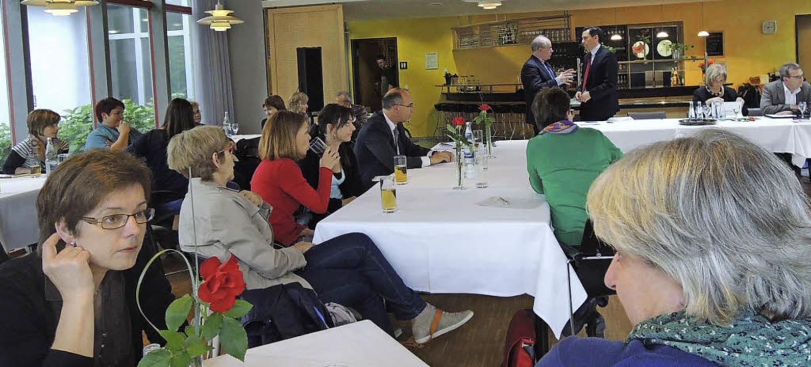 Angeregte Diskussionen prägten das dritte SPD-Forum Bildung.   | Foto: Kurt Meier