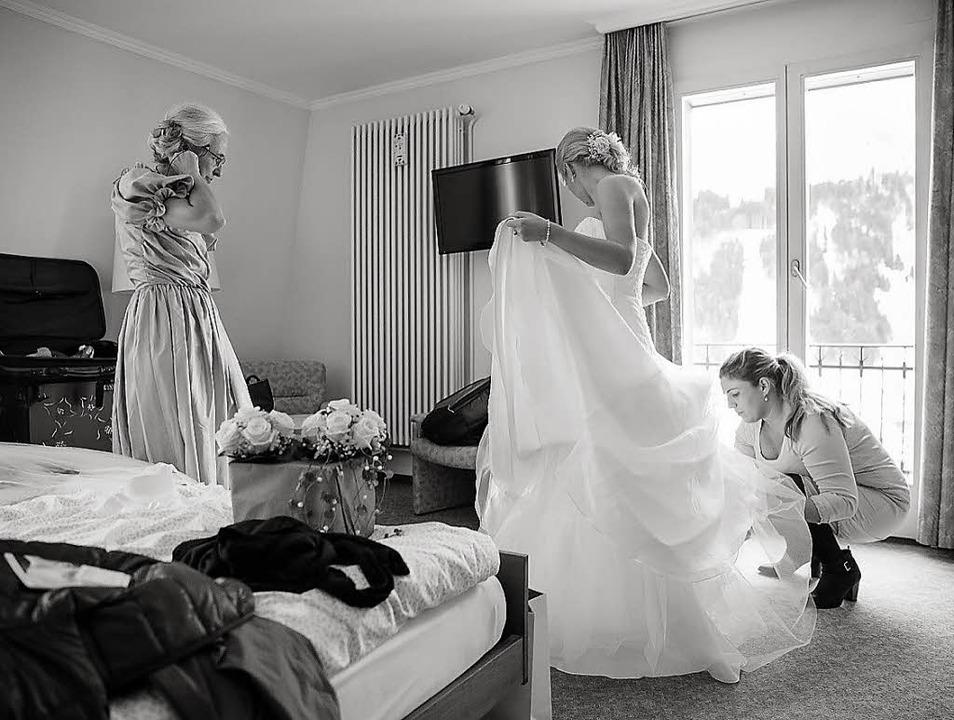 Eine Hochzeit vorzubereiten, ist eine ...bst zur weiteren Unterstützung dabei.   | Foto: Fotos: Dominic Rock