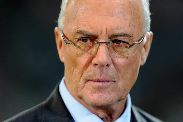 FIFA sperrt Beckenbauer provisorisch für 90 Tage