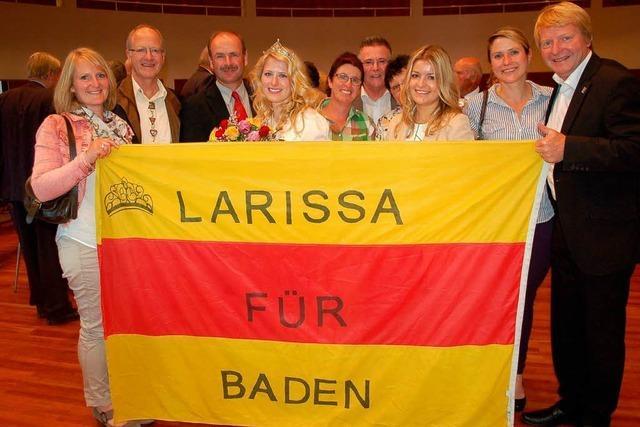 Larissa Zentner Badische Weinprinzessin