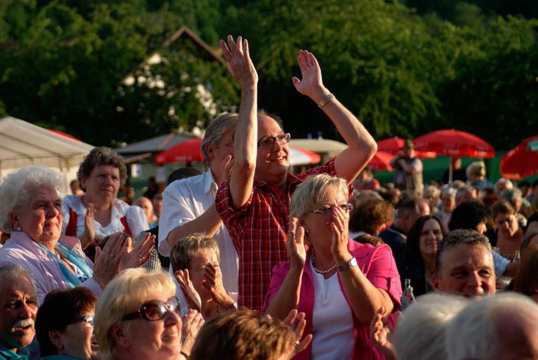 Begeistert waren die Zuschauer.  | Foto: Christian John