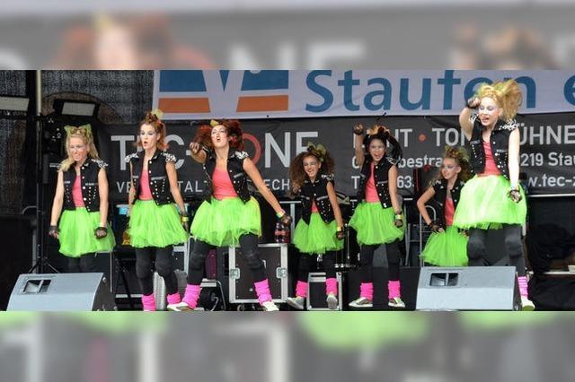 Street-Dance-Contest bei Wein & Musik in Staufen