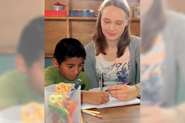 Schön, wenn Kinder lernen