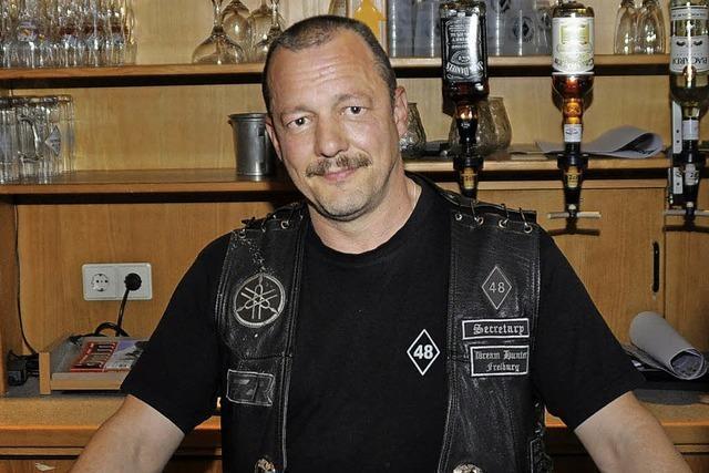 """Motorradfreunde """"Dream Hunter"""" müssen ihr Clubhaus in Merdingen räumen"""