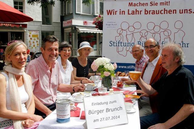 Stiftung Bürger für Lahr wirbt für ersten Bürger-Brunch