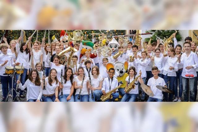 71 Jungmusikgruppen zu Gast im Europa-Park