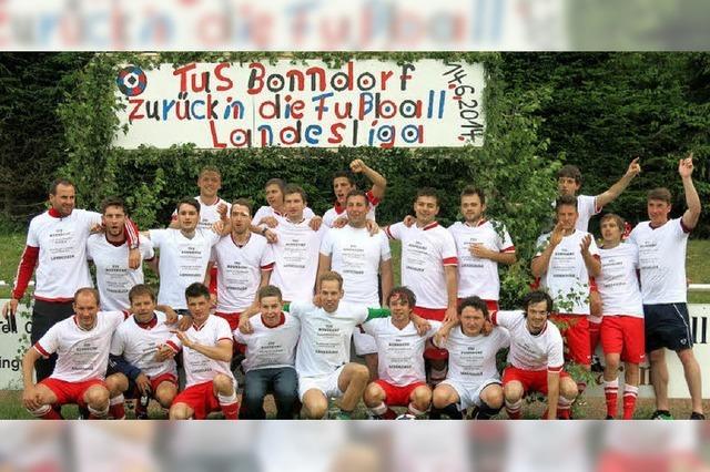 TuS Bonndorf schafft Aufstieg in Landesliga