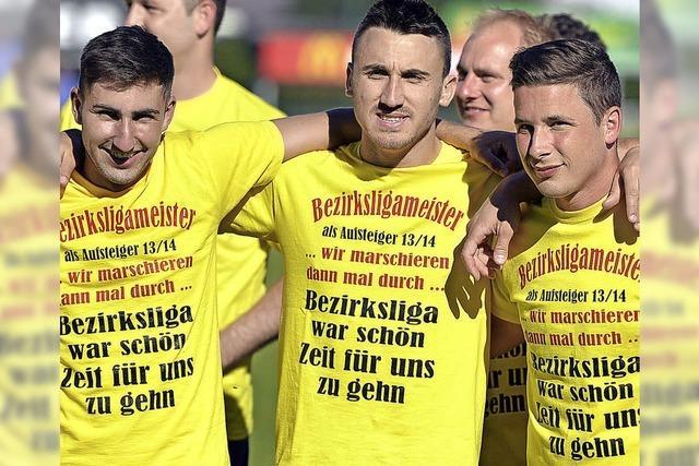 Im Sauseschritt zurück in die Landesliga