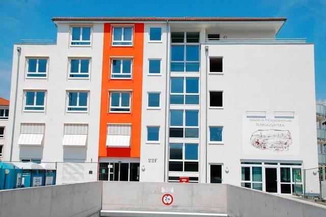 Pflegezentrum Rheingarten: Nur das Personal fehlt noch