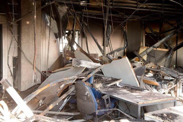 Feuer an der Uni in Vaihingen verursacht Millionenschaden